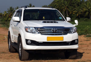 Hire Fortuner taxi in Amritsar