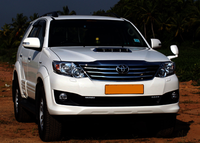Fortuner Taxi Hire Service